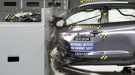 Hyundai Tucson consigue Top Safety Pick +
