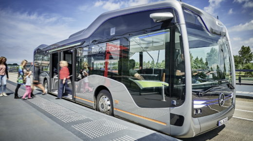Mercedes-Benz presenta el Future Bus