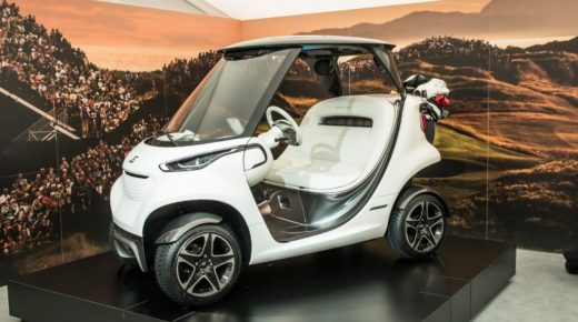 Mercedes-Benz presenta el Garia Golf Cart