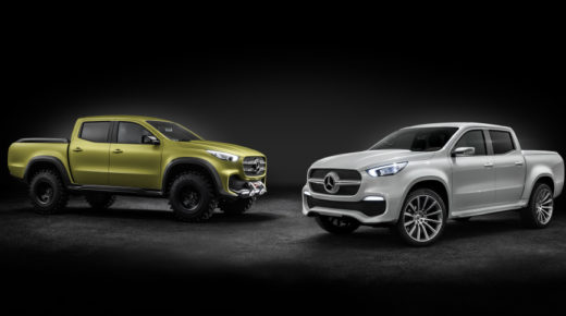 Mercedes revela no solo uno , sino 2 Pick-up concept