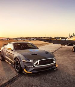 Ford Eagle Squadron Mustang GT, un auto honorífico